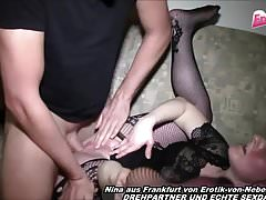 NINA FROM FRANKFURT GERMANY - PRIVATE FUCK BAREBACK