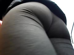BootyCruise: Gray Leggings Up-Ass Cam Deluxe
