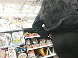 Teen with See-Through Pants at Walmart