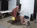 Miss Jenn Gives a Discipline Spanking