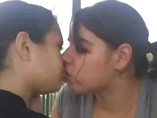 Kissing Lesbian Orgy video: A1NYC Lesbian teen kissing homemade compilation