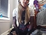 Tiffany minx chastity sissy begs for exposure