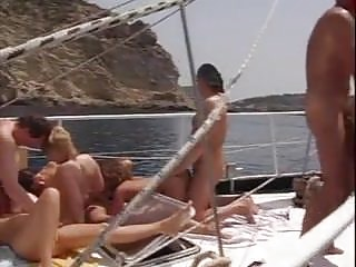 German Group Sex xxx: german boat