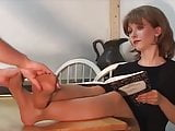 Boss Dina & Lala - Lesbian Nylon & Bare Foot Worship