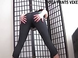 My bubble butt looks so fucking good in these yoga pants JOI