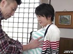 Sakura Aida lässt Hunk ihre Muschi verschlingen