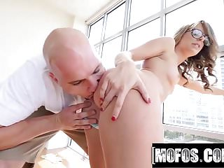 Mofos blonde babe anal celebration video kimmy fabel
