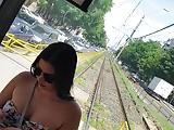 Spy bust teens girl romanian