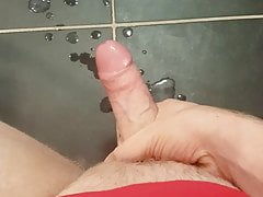 young guy wanking a big cumshot