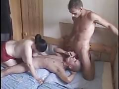 Bisex mmf 3some