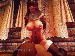 3D Oblivion Futanari Tanz - Lamm