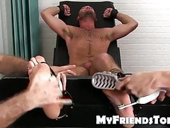 Feet tickling and tormenting with an classy hairy hunk | Porn-Update.com