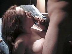rudowłosy dziwka ssania kogut do cum w ustach