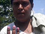 Shanna Pink Toenails