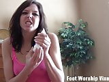 I will give you the most amazing footjob of your life