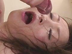 Miyama Ranko innocente ligotée et bandée aux yeux de deux mecs