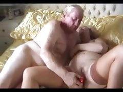 Old amateur couple