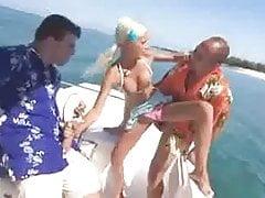 Caribic Boat Threesome