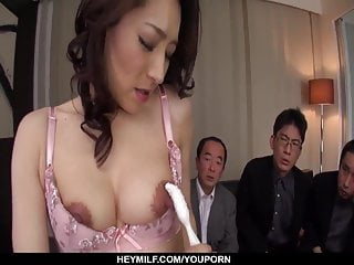 Asian Japanese Lingerie video: Busty Marina Matsumoto works a bunch of  - More at Japanesem