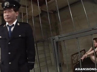 Bdsm Teen Small Tits video: Ria Sakurai sucked dick in the jail, to get out