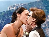 Gal Gadot & Kate McKinnon Lesbian Kiss on ScandalPlanet.Com