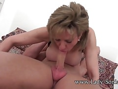 MILF Sonia is fucked hard and got to squirt