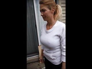 Tits Blonde Mature video: Hard Nipples 1