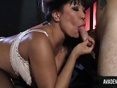 Ava Devine is fucked by burglar