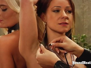 Bound Lesbian Girls Whipped And Punished By Merciless Madame-