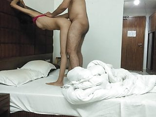 Sexy salwar kameez gives awesome blowjob...