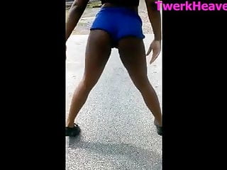 big booty black girl athletic twerkHD Sex Videos