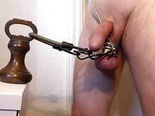 Weight drop punishment...