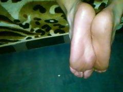 himself foot cumPorn Videos
