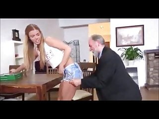 by man Hot dirty fucked old young Chrissy