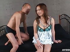 Japanese fuck doll, Riru Ozawa is squirting, uncensored