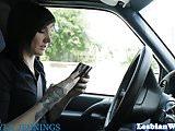 Tattooed alt lesbian fingering horny dyke