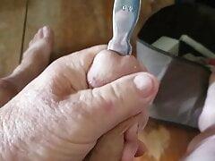 Edging my cock