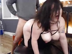 Fuck and suck on webcam