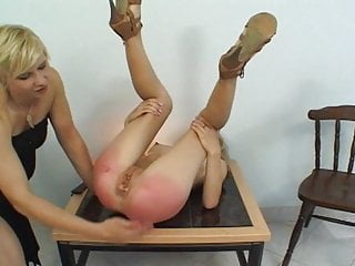 Girl heels lesson a punishment in on high gets