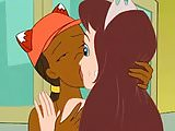 Drawn Together - Foxxy Love And Princess Clara Make Out