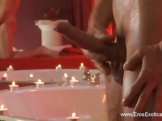 Arousing and massage...