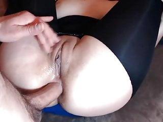 Big wet pussy getting big...