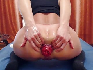 big ass dildo ride & prolapse ultimate editionHD Sex Videos