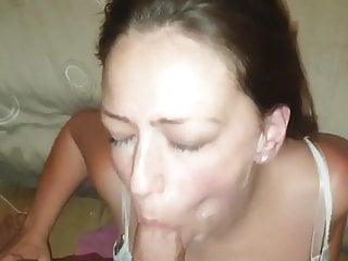 Slutty College Girl Gets Her Mouth Filled With Warm Cum