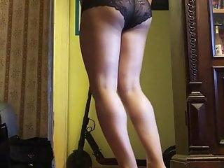 Colorless pantyhose...