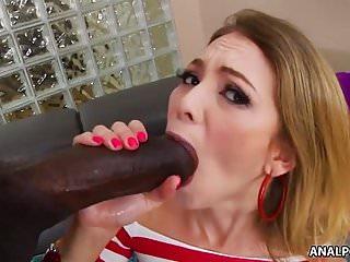 Painful monster black cock ass fuck – Angel Smalls