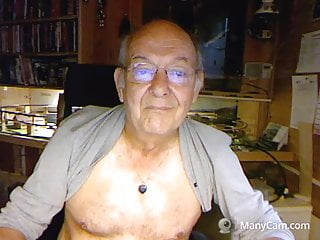 70 yo man on web cam sexy face