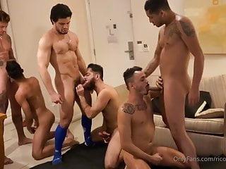 Bareback Orgy in Brazil