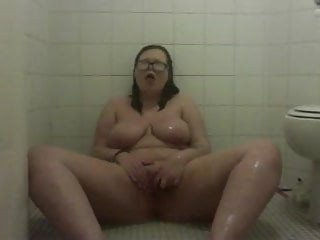 Ex-gf revenge in shower fingering