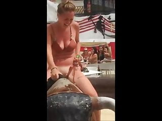 18 12 months Mature bull mechanic strip seashore display cunt in public